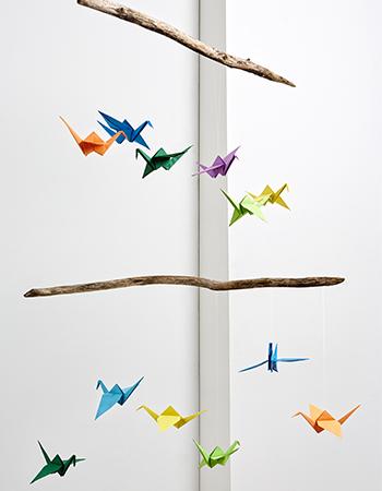 Origami-Kraniche - Mobile