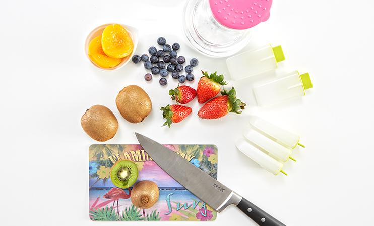fruchtiges Eis - DIY - Zutaten