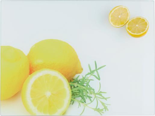 Schneidebrett Zitrone