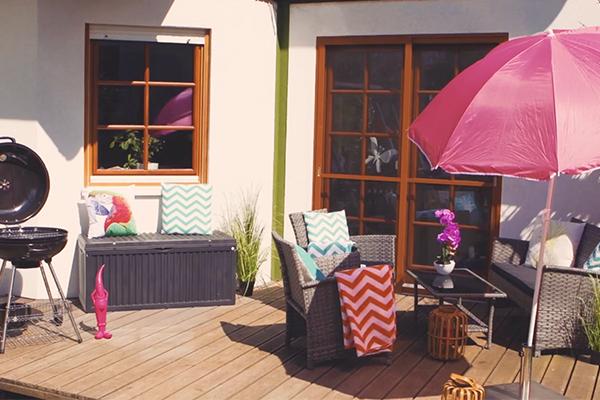 Kleine Terrasse ganz groß! - nachher