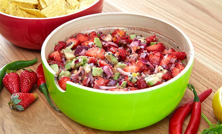 Erdbeer-Avocado-Salsa