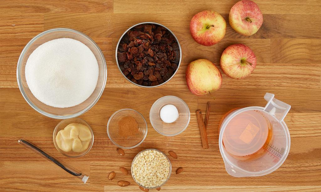 Bratapfelmarmelade mit Marzipan einfach selber machen