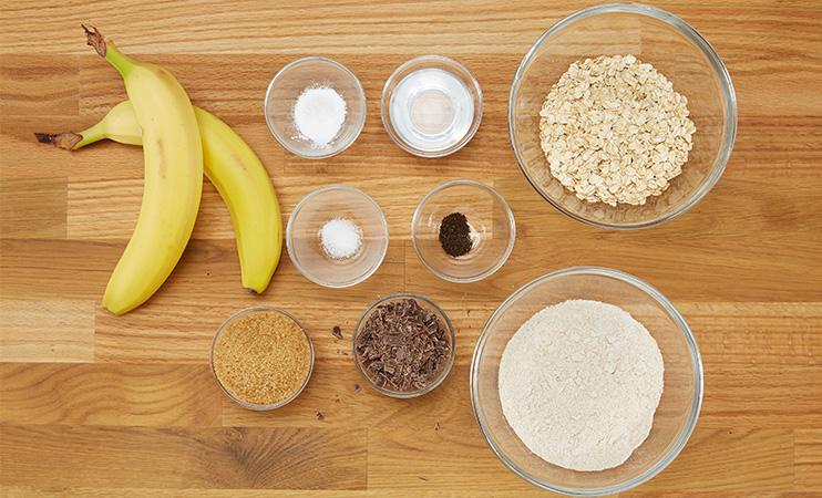 Vegane Bananen Cookie - Zutaten