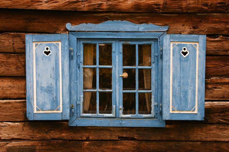 Landhaus Fenster