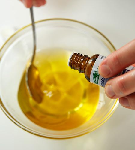 ..und das Lavendel- und Vanilleöl