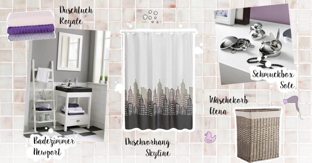 Badezimmer Collage