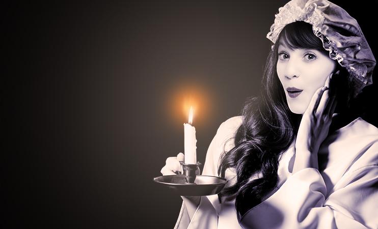 Mia - von der Kerze zur Lampe
