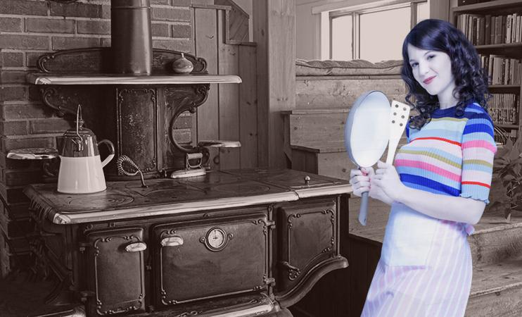 Mia's alte Küche