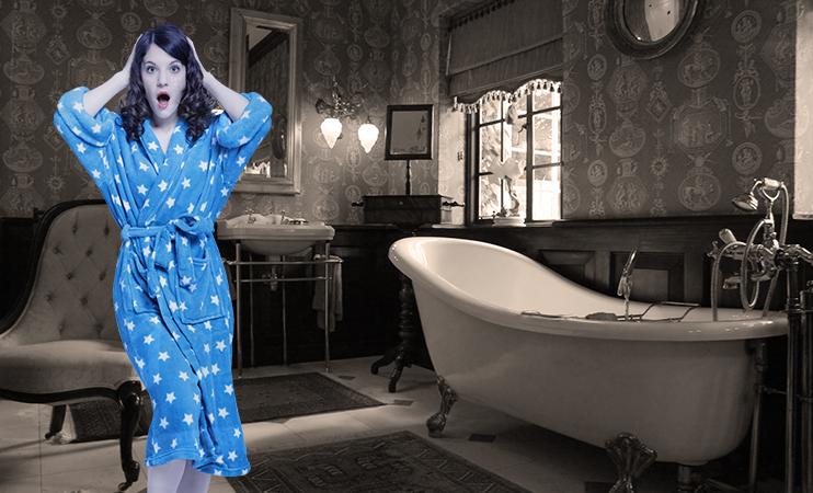 Mia's altes Badezimmer