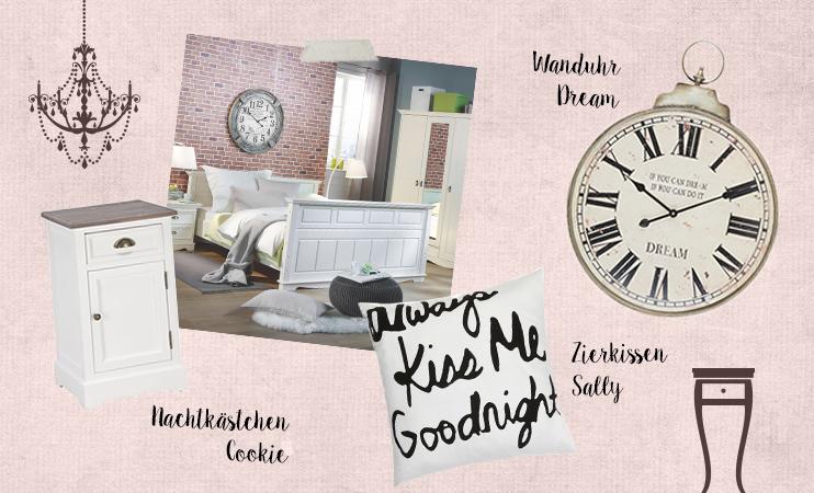 Schlafzimmer damals und heute