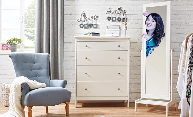 Mia im Spiegel