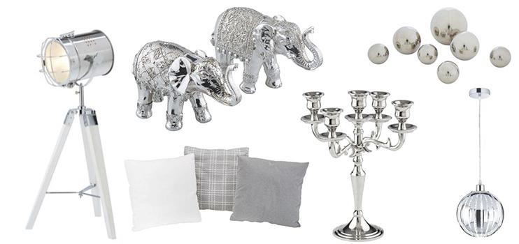 Wohnaccessoires silber  Silver Style - mömax blog