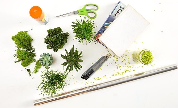 Book planter DIY - was man dafür alles benötigt