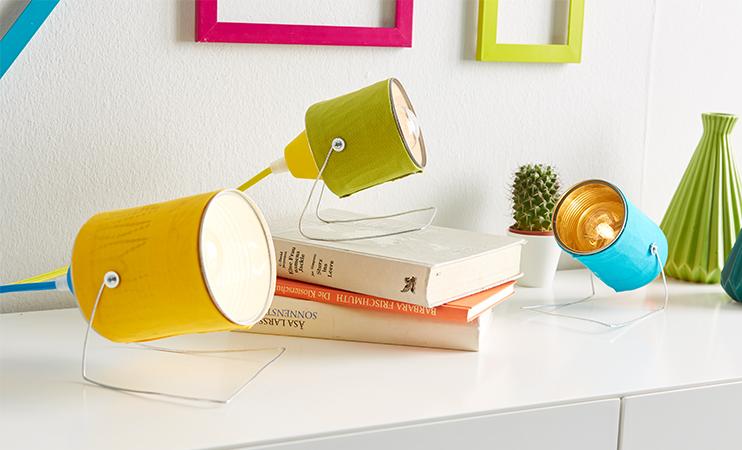 Lampen aus alten Konservendosen selber machen