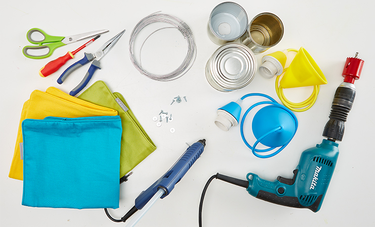 Dosenlampen DIY - was benötigt man dazu alles?