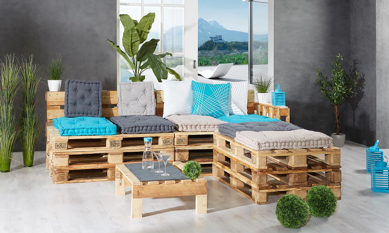 Lounge-Ganitur selber bauen