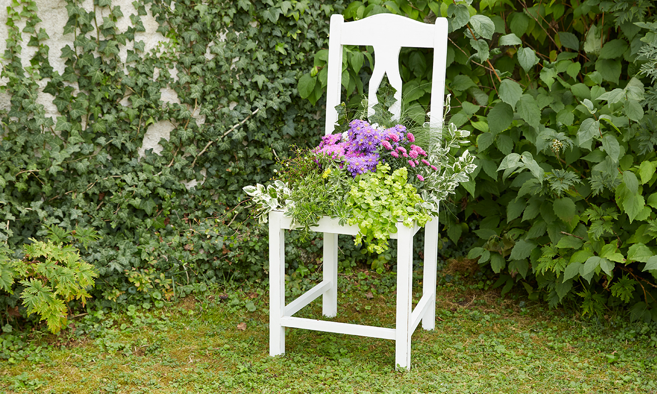 Alter Stuhl Als Gartendeko Momax Blog