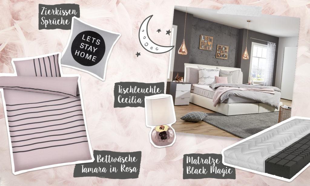 Mia und die Geschichte der Matratze - Collage