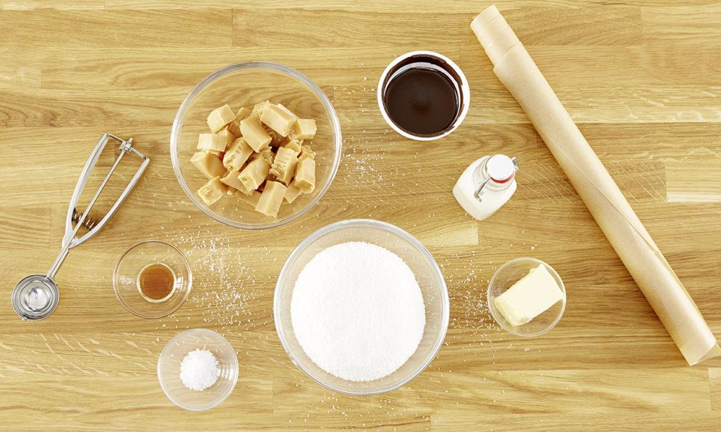 karamell-kokos-makronen Zutaten