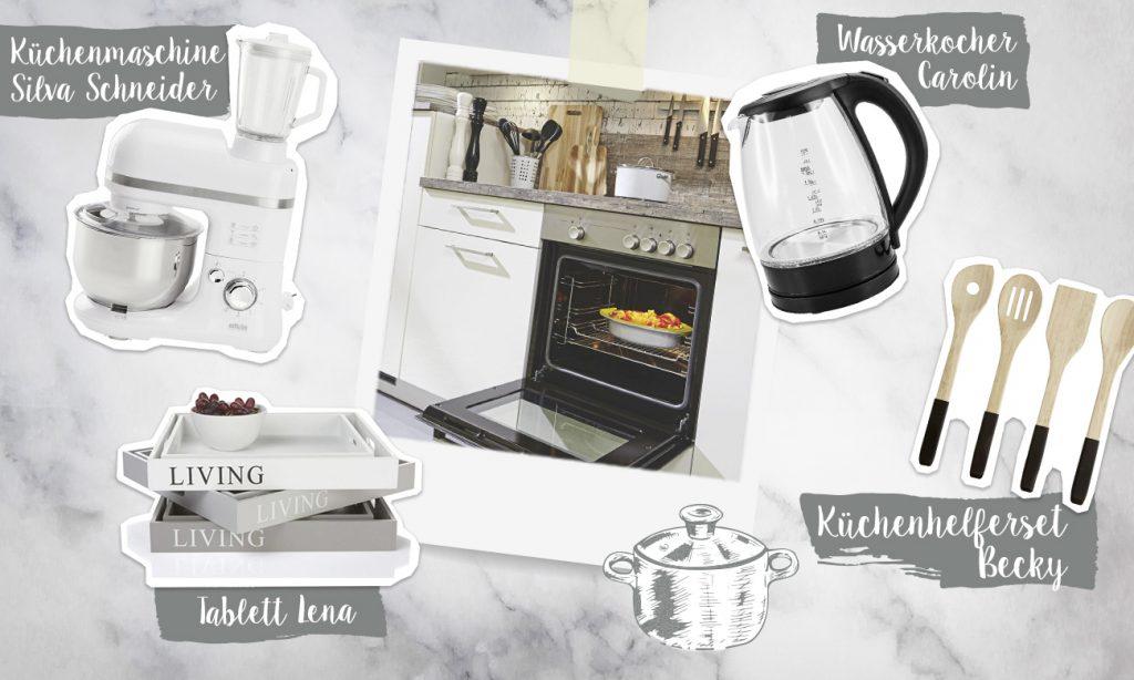 Mia und die praktischen Küchenhelfer - Collage