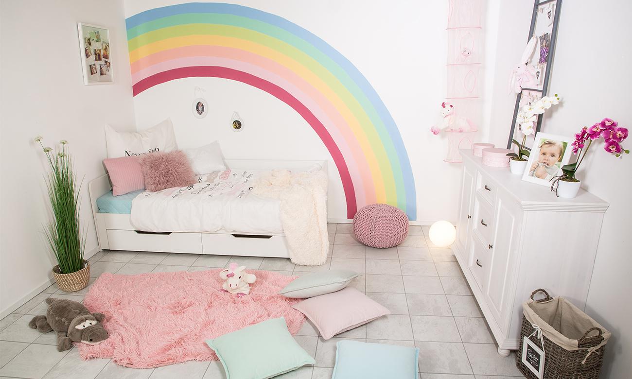 Wände streichen - Regenbogen - mömax blog