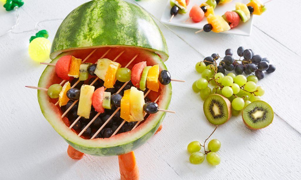 Melonen Grill selber machen - Anleitung am mömax Blog