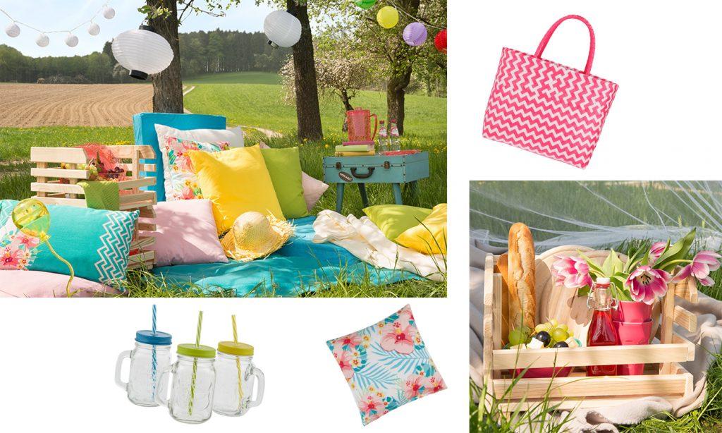 Mia geht Picknicken