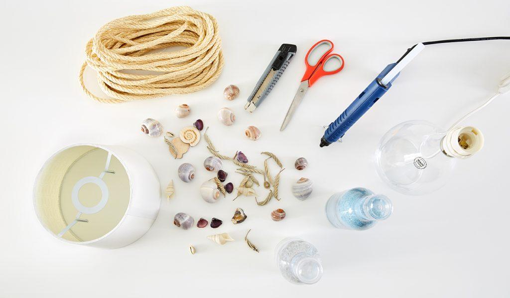 maritime Tischleuchte - Was benötigt man alles?