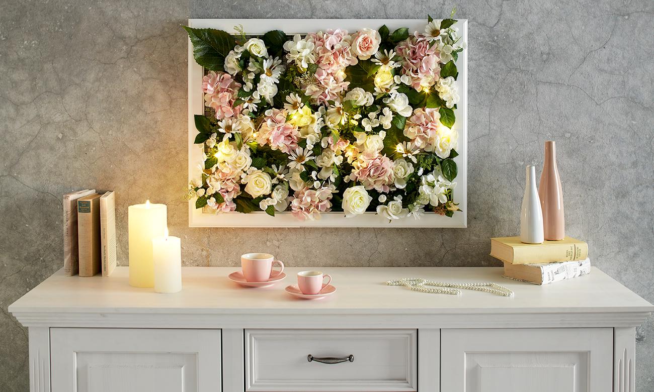 blumen bilderrahmen selber machen m max blog. Black Bedroom Furniture Sets. Home Design Ideas