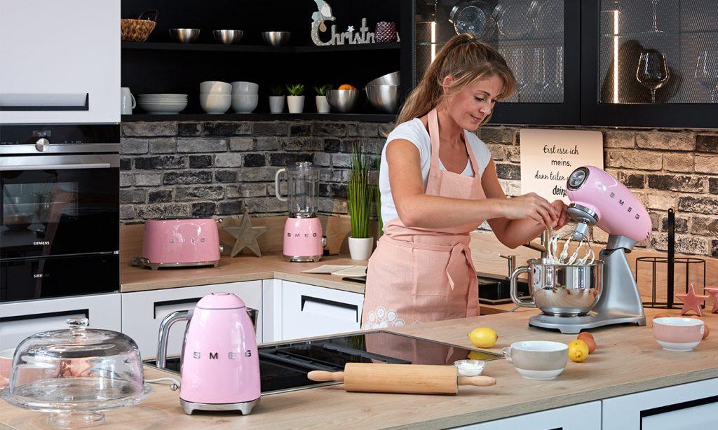 Cheesecake mit Cranbeeries - mömax Blog - Yvonne backt mit SMEG