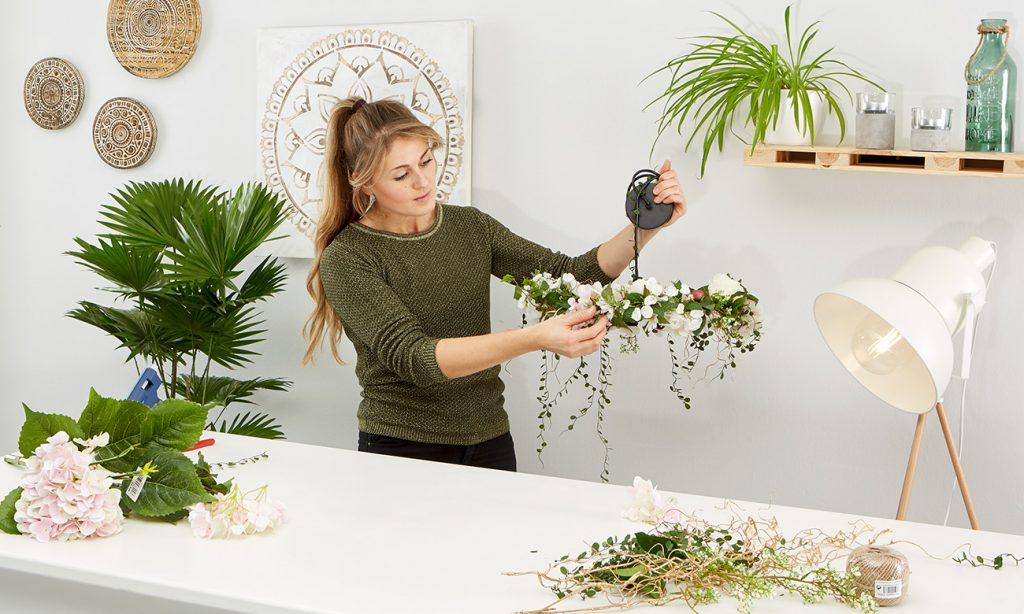 Blumen Lampe DIY