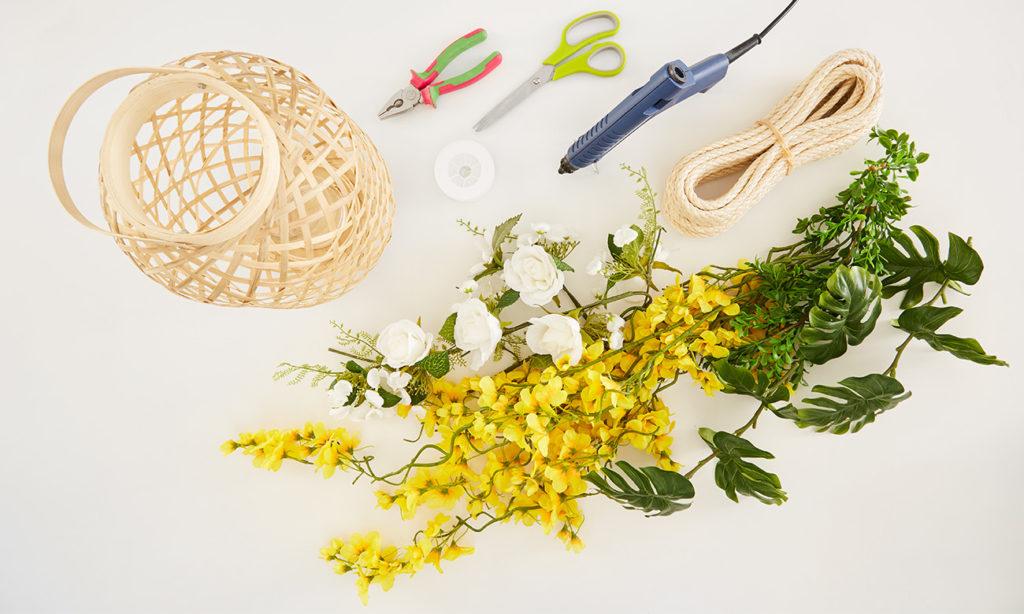 Laternen für die Gartenparty selber machen - was man alles benötigt