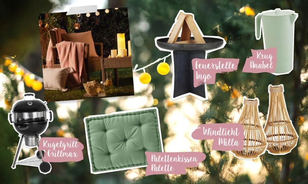 Mia schmeißt eine Gartenparty - Collage