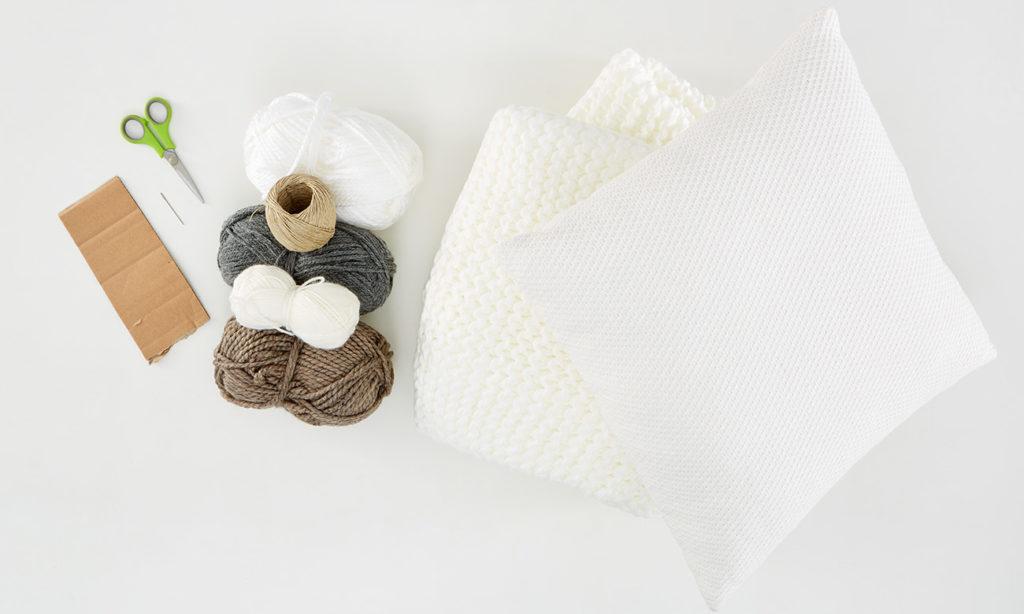 Pompom und Tasseln DIY - was man alles benötigt