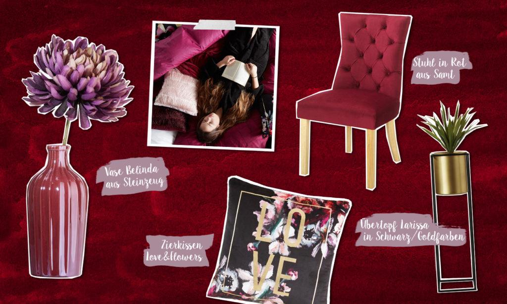 Mia Hausgeist - Berry Dreams - Collage