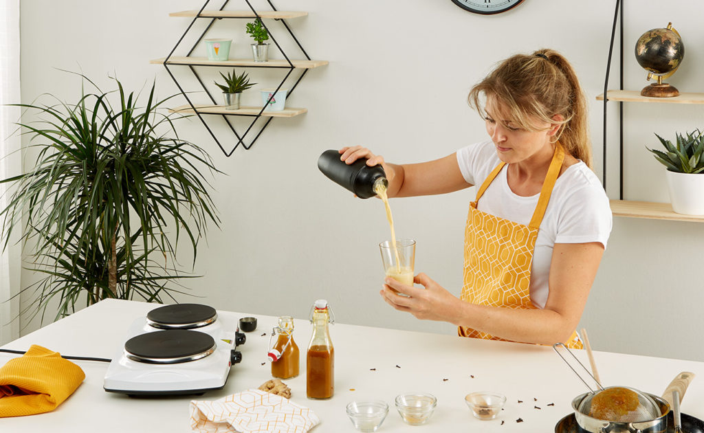 Golden Milk - einfach selber machen - mömax Blog - Yvonne macht Sirup