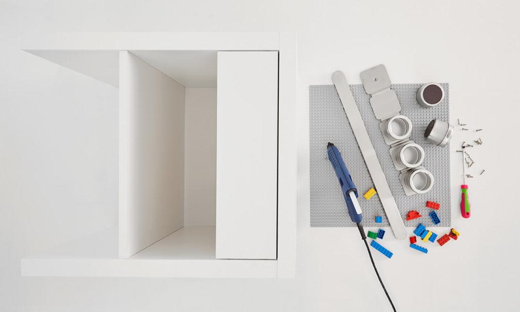 Spieltisch für Kinder DIY - Was man alles benötigt