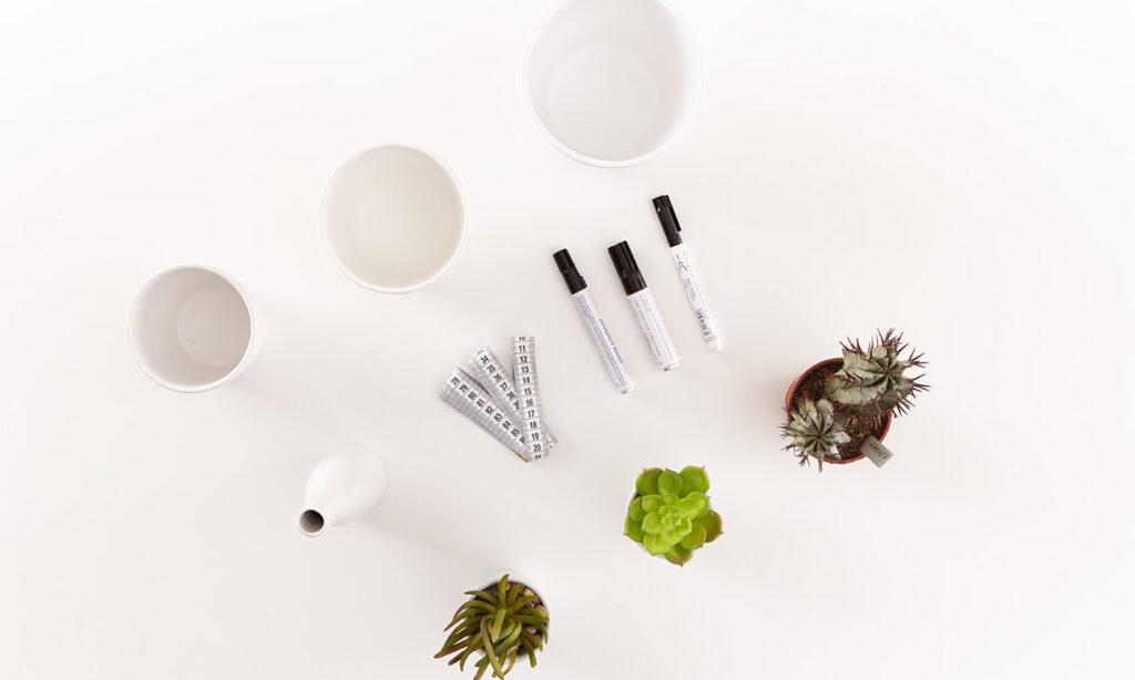 Blumentopf mit Ethno Muster DIY - was man alles benötigt