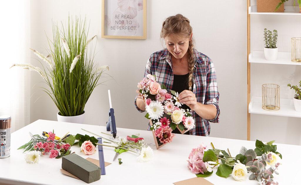 Blumen Buchstaben DIY - mömax Blog