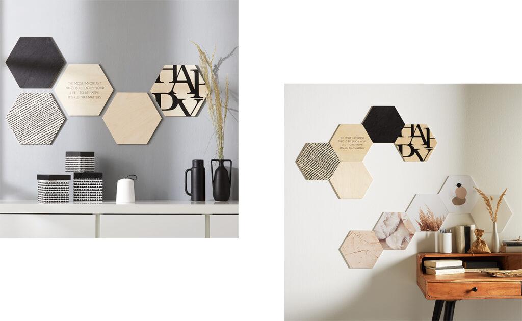 Hexagon voll im Trend